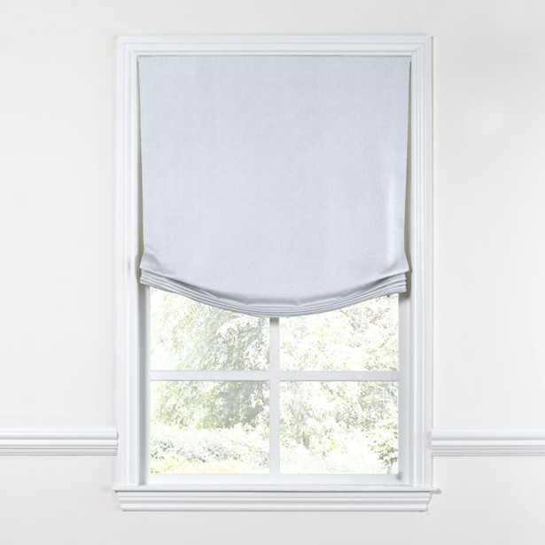 "Relaxed Roman Shade Classic Linen - Bermuda - 34""x90"" - Loom Decor"
