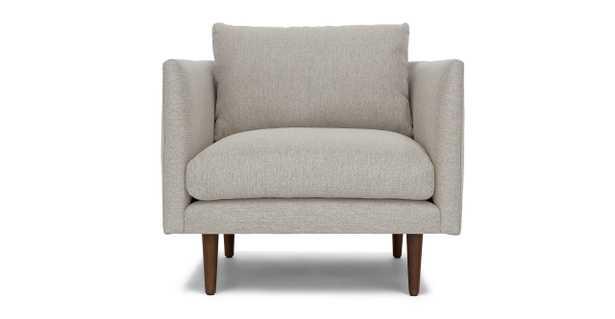 Burrard Seasalt gray chair - Article