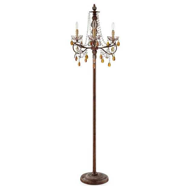 "Mannino 67"" Candelabra Floor Lamp - Wayfair"