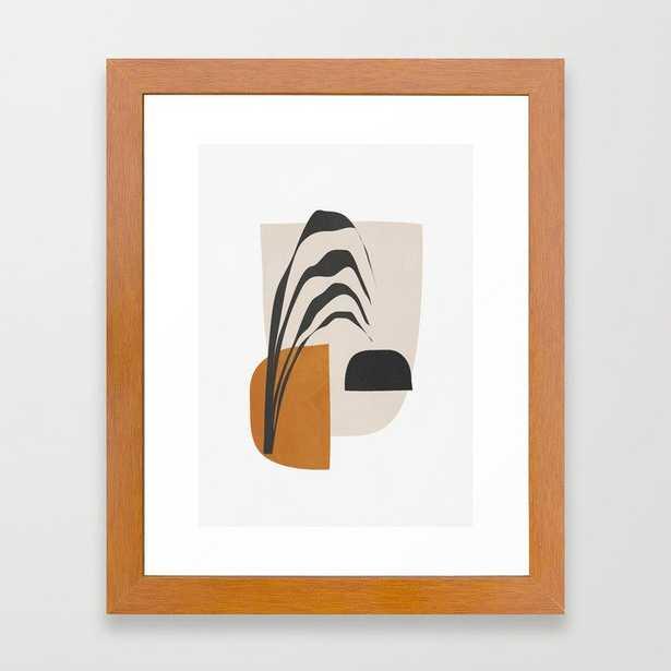 Abstract Shapes 3 Framed Art Print - Society6