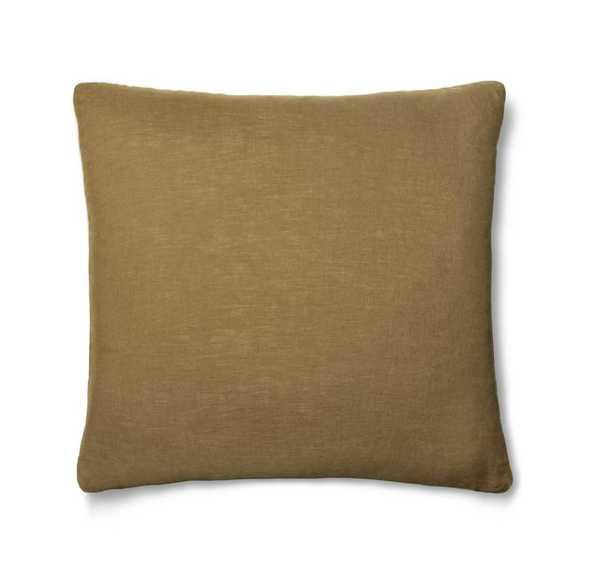 Linen Pillow Cover Ochre - Parachute