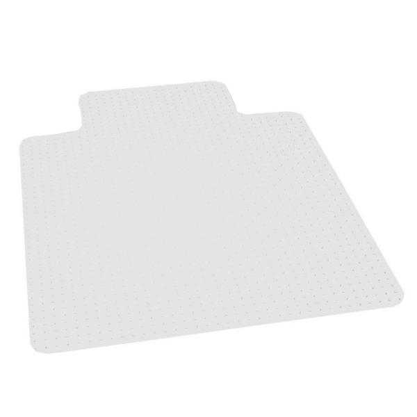 Professional Clear 36 in. x 48 in. Carpet Vinyl Chair Mat - Home Depot