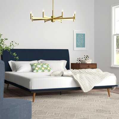 Joyce Queen Upholstered Platform Bed - Wayfair