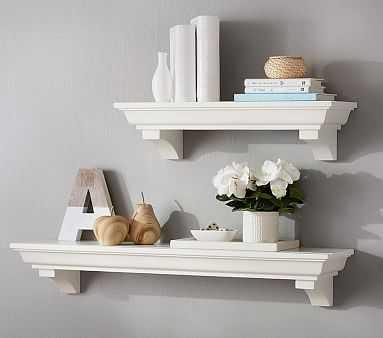 Classic 2 ft Shelf, Simply White - Pottery Barn Kids