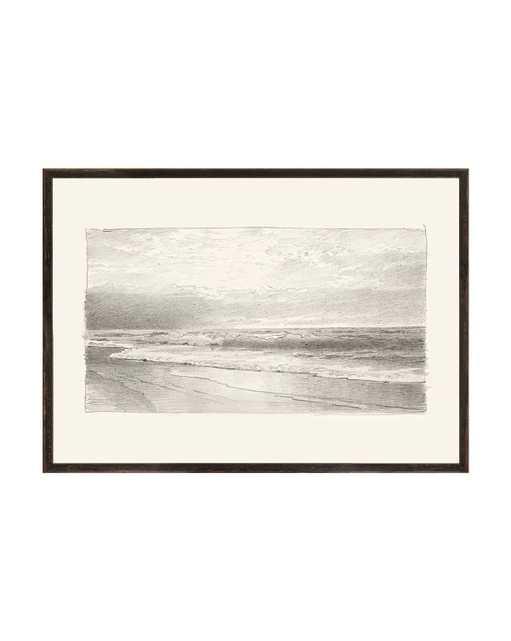 Beach Sketch Framed Art - McGee & Co.