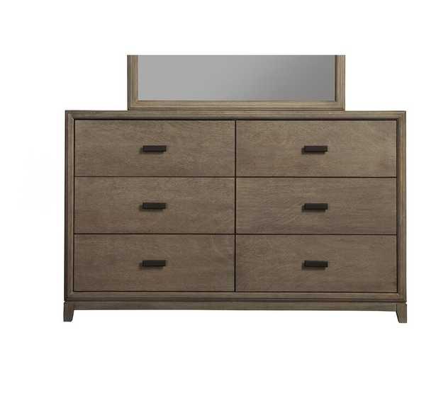Hunziker 6 Drawer Double Dresser - Wayfair