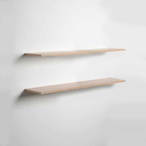 Brusly 2 Piece Floating Shelf Set - Wayfair