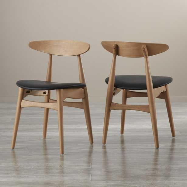Oliver Solid Wood Dining Chair, set of 2 - AllModern