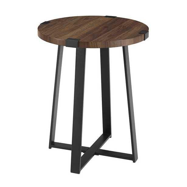 Enrique Cross Legs End Table ( In Stock April 2021) - Wayfair