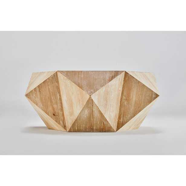Raymundo Solid Wood Pedestal Coffee Table - Wayfair