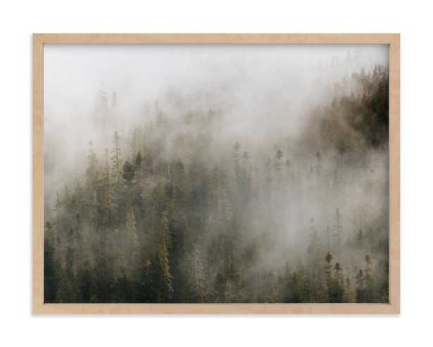 pacific north fog - Minted