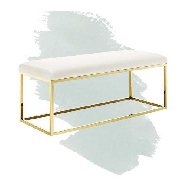 Annalise Upholstered Bedroom Bench - Wayfair
