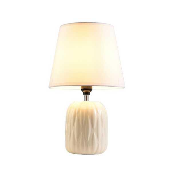 "Wooler 15"" Table Lamp Set (Set of 2) - Wayfair"