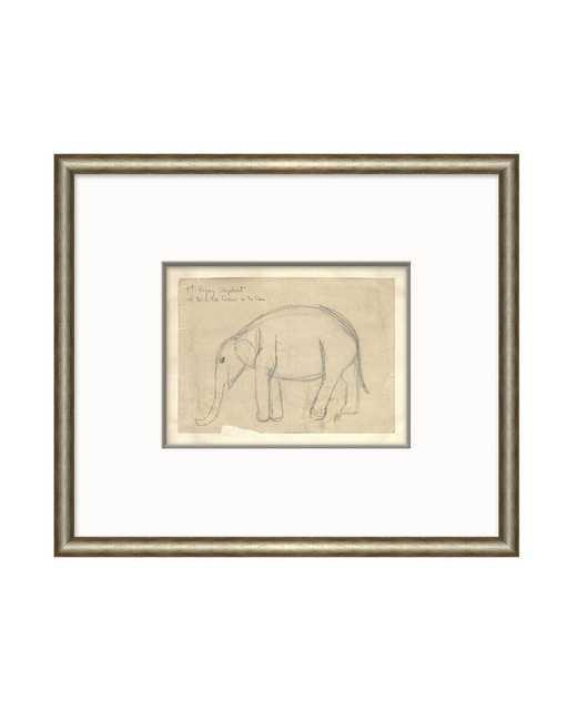 ELEPHANT SKETCH - McGee & Co.