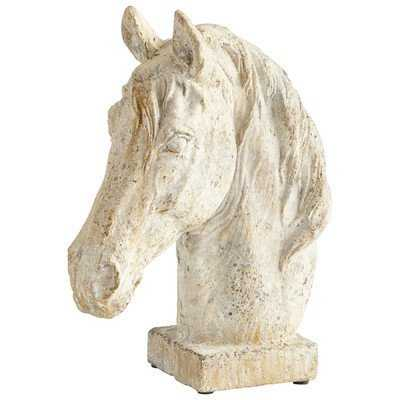 Majestic Mane Horse Sculpture - Wayfair