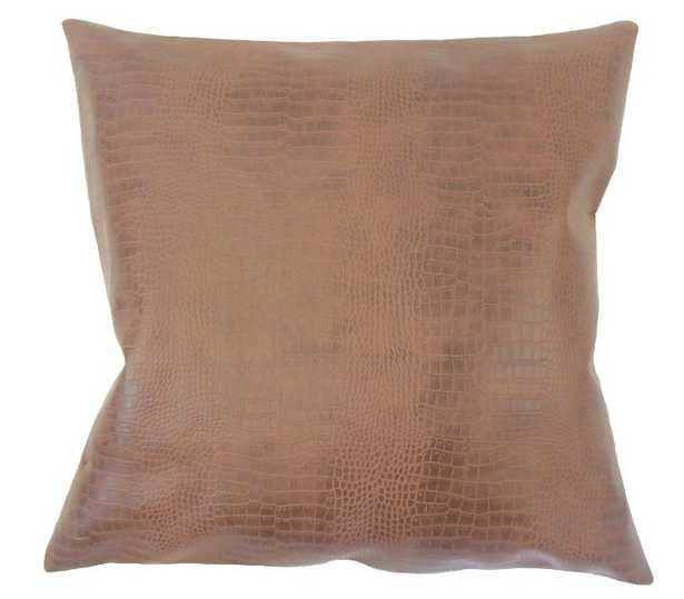 PALESA SOLID PILLOW BROWN - Linen & Seam