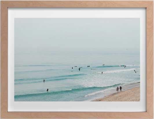 "Beach Summer Blues  24 x 18"" - Minted"