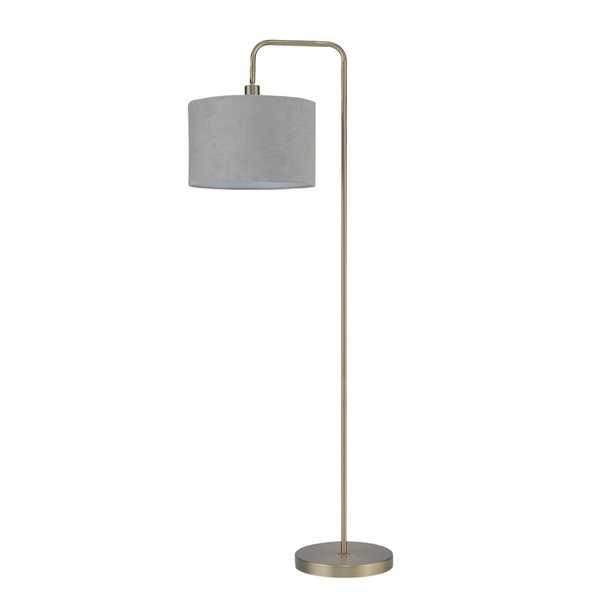 """Chattahoochee 58"""" Arched Floor Lamp - Brass - Wayfair"""