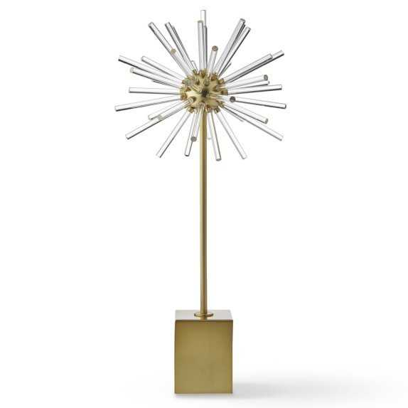 Acrylic and Metal Starburst Object, Large - Williams Sonoma Home