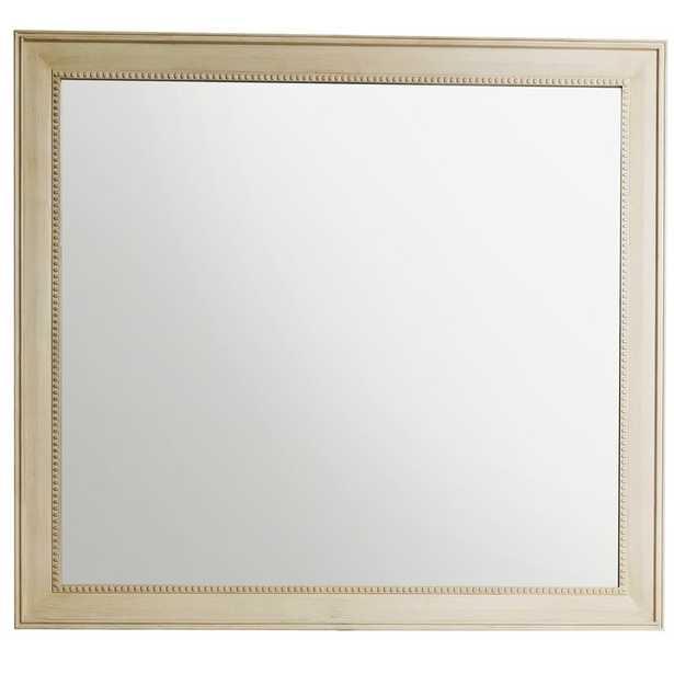 Vintage Vanilla Lambrecht Modern and Contemporary Beveled Bathroom/Vanity Mirror - Wayfair