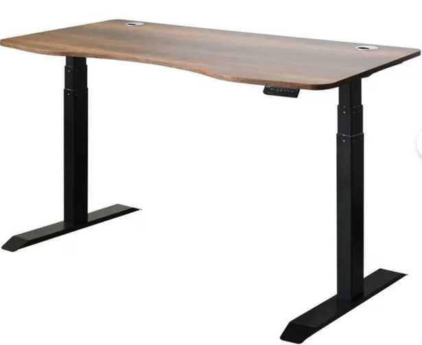 Mollie Ergonomic Height Adjustable Standing Desk - Wayfair
