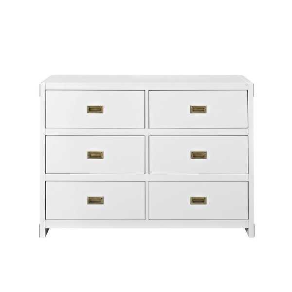 Benbrook 6 Drawer Double Dresser - AllModern