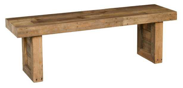 Abbey Wood Bench - AllModern