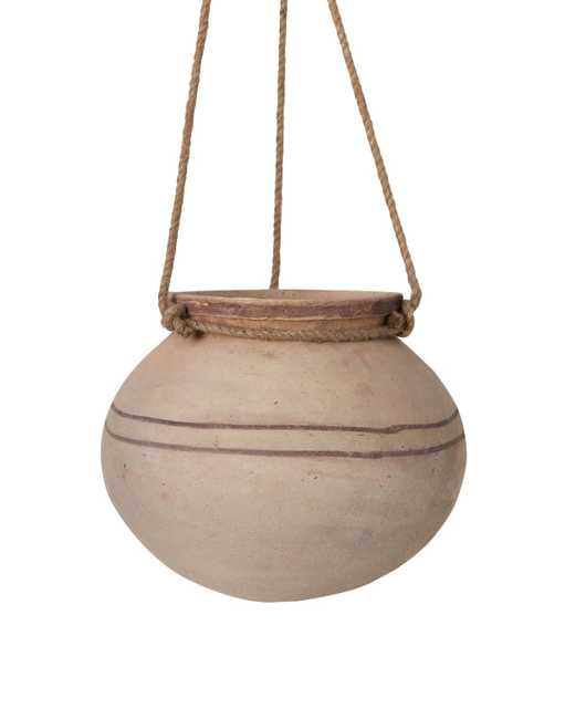 HANGING CLAY POT - McGee & Co.