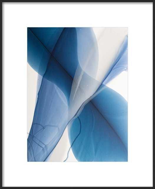 Movement Study in Caribbean Blue - Artfully Walls