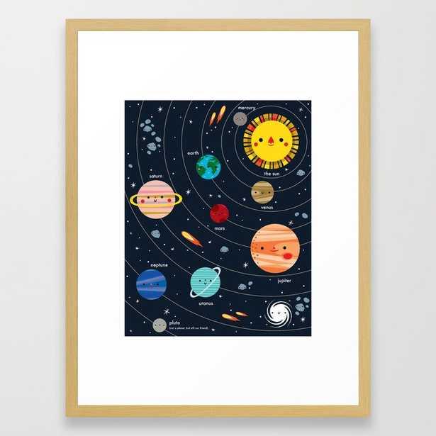 Solar System Framed Art Print - Society6