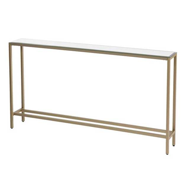 Wigington Console Table with Mirrored Top - Wayfair