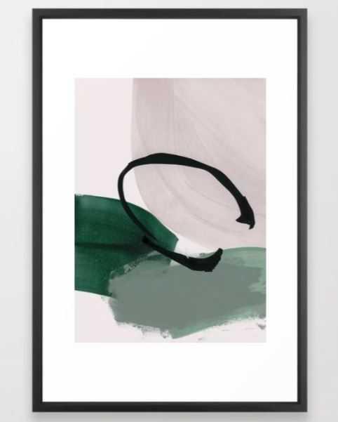 minimalist painting 01 Framed Art Print - Society6