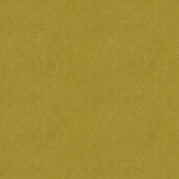 Classic Velvet - Chartreuse (per yard) - Loom Decor
