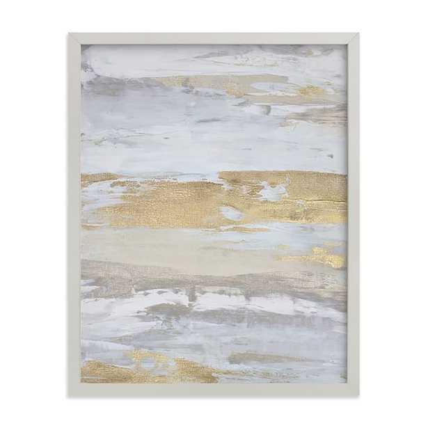 Malibu Gold No.1 Framed Art by Minted®, Grey, 11x14 - Pottery Barn Teen