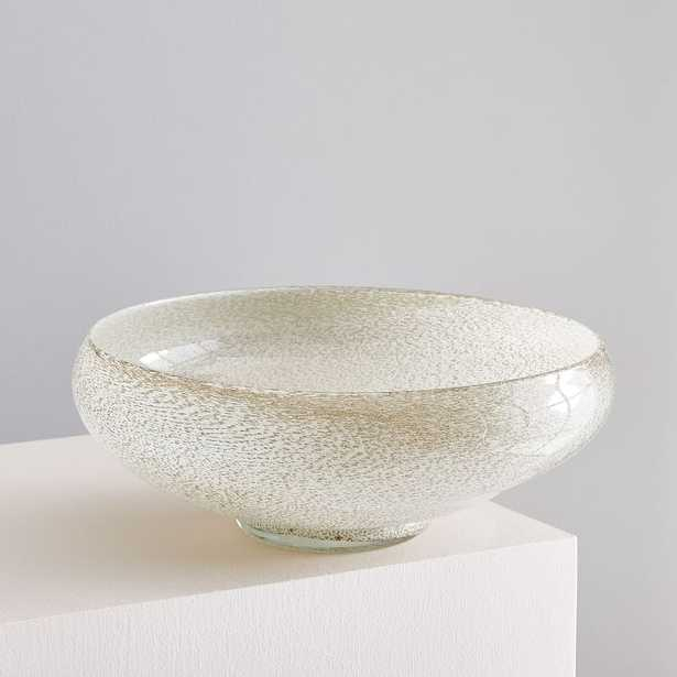 Jade Colored Glass Centerpiece Bowl - Crate and Barrel
