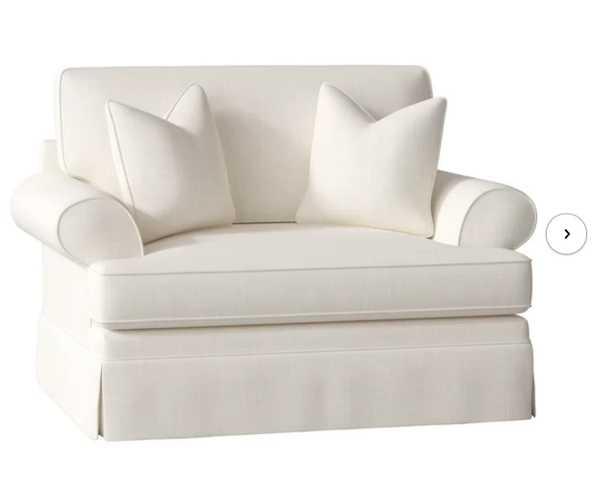 Big Chair and a Half, Conversation Pearl - Wayfair