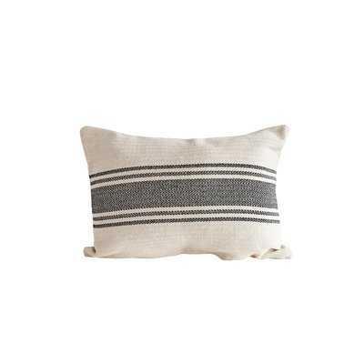 Reshma Stripe Lumbar Pillow - Wayfair