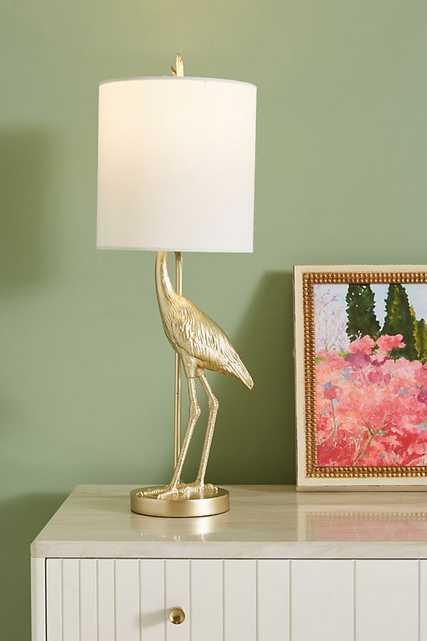 Flamingo Table Lamp - Anthropologie