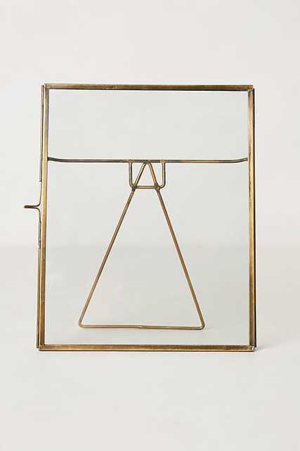 "pressed glass photo frame 8"" x 10"" - Anthropologie"