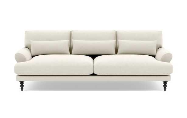 MAXWELL Fabric Sofa - Chalk Heathered Weave - Interior Define
