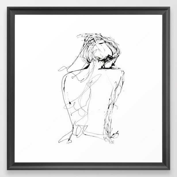 Virginia Framed Art Print - 22x22 - Society6