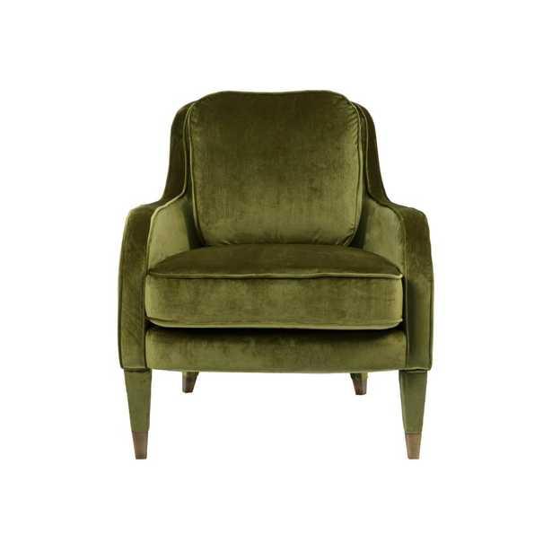 Weitzman Armchair - Green - Wayfair