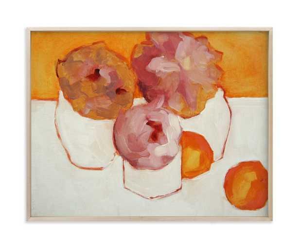 Peonies and Kumquats - Minted