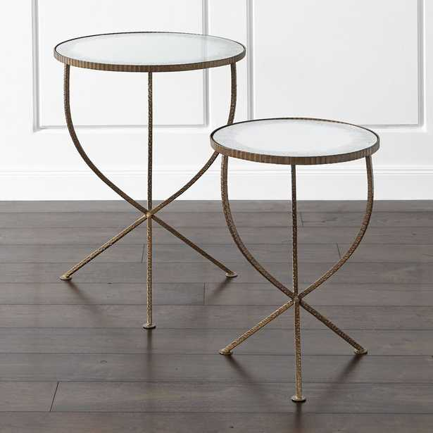 Set of 2 Jules Accent Tables - Crate and Barrel