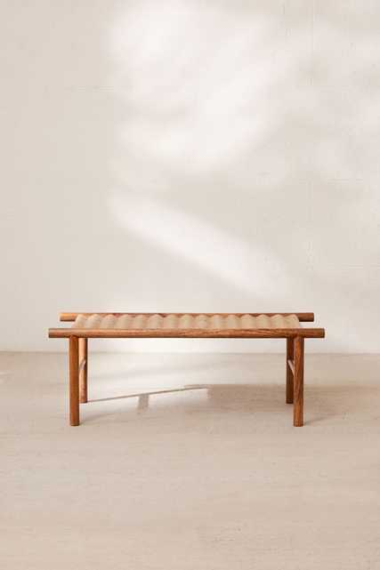 Woven Bench - Anthropologie
