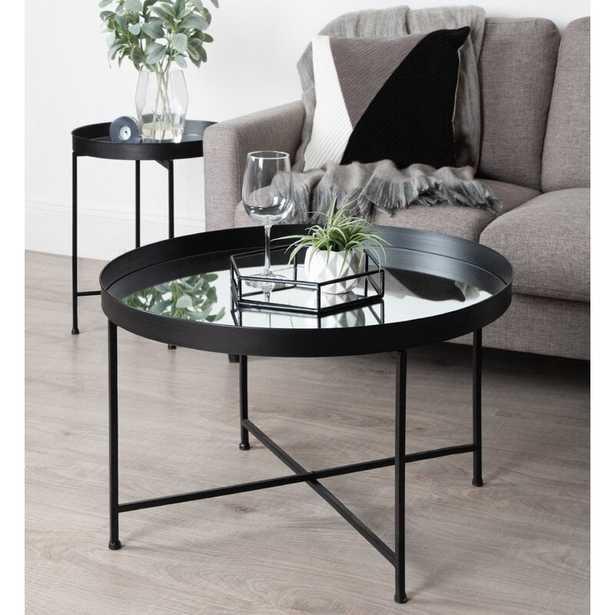 Alvis Lift Top Cross Legs Coffee Table - Wayfair