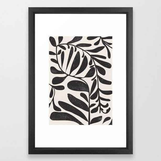 Abstract Plant 3 Framed Art Print - Society6