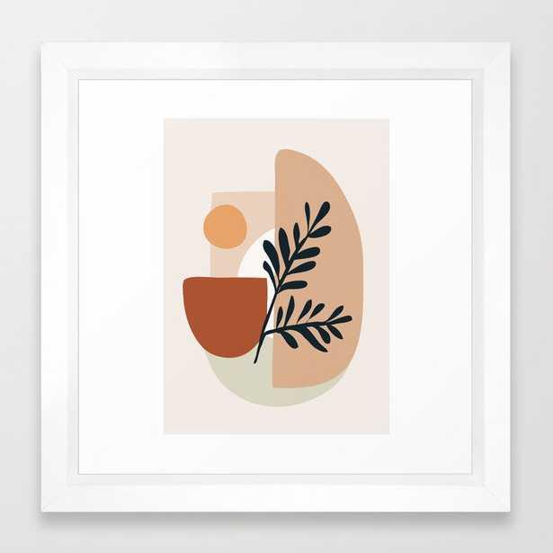 Geometric Shapes Framed Art Print - Society6
