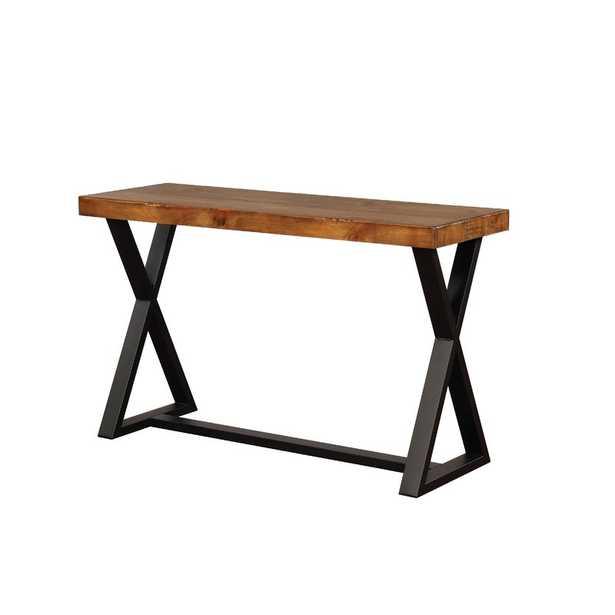 Sikeston Industrial Console Table - Wayfair