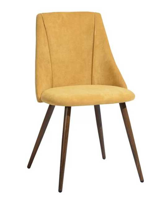 Camron Velvet Upholstered Side Chair (set of 2) - Wayfair